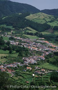 Furnas, a small town on Sao Miguel Island