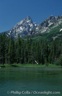 String Lake and the Teton Range, summer, Grand Teton National Park, Wyoming