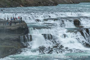 Gullfoss waterfall in Iceland., natural history stock photograph, photo id 35806