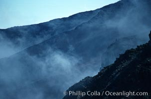 Haleakala volcano crater. Maui, Hawaii, USA, natural history stock photograph, photo id 05600