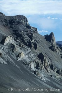 Haleakala Volcano crater slope. Maui, Hawaii, USA, natural history stock photograph, photo id 04546