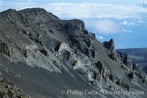 Haleakala Volcano crater slope, Maui