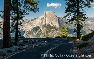 Half Dome and the Glacier Point Road, Yosemite National Park