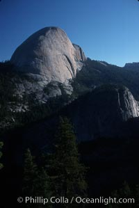Backside of Half Dome viewed from Panorama Trail, Yosemite National Park, California
