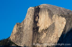 Half Dome, late afternoon. Yosemite National Park, California, USA, natural history stock photograph, photo id 07151