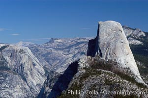 Half Dome and Tenaya Canyon, viewed from Glacier Point, Yosemite National Park, California