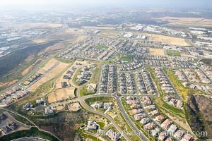 Housing development,near Palomar McClellan airport, Carlsbad, California