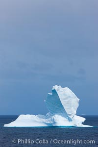 Iceberg, South Orkney Islands. Coronation Island, South Orkney Islands, Southern Ocean, natural history stock photograph, photo id 26355