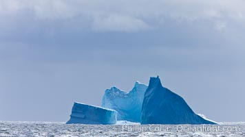 Iceberg, South Orkney Islands. Coronation Island, South Orkney Islands, Southern Ocean, natural history stock photograph, photo id 26356