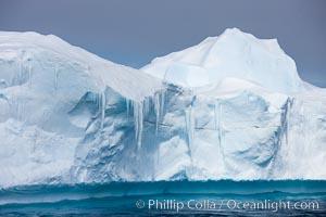 Iceberg detail, Antarctic Sound. Antarctic Sound, Antarctic Peninsula, Antarctica, natural history stock photograph, photo id 24878