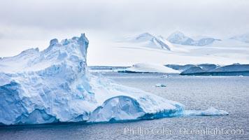 Iceberg study near Paulet Island, Antarctica