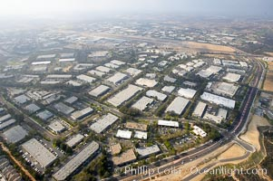 Industrial buildings and warehouses, near Palomar McClellan airport, Carlsbad, California