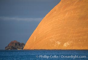 Isla Adentro and Church Rock, Guadalupe Island, Mexico. Guadalupe Island (Isla Guadalupe), Baja California, natural history stock photograph, photo id 36144