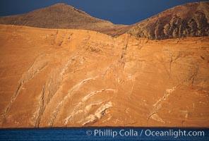 Arches, daybreak, Isla Adentro, Guadalupe Island (Isla Guadalupe)