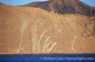 Arches on Isla Adentro. Guadalupe Island (Isla Guadalupe), Baja California, Mexico, natural history stock photograph, photo id 06139
