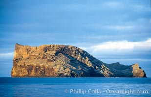 Isla Afuera, Guadalupe Island, daybreak, Guadalupe Island (Isla Guadalupe)