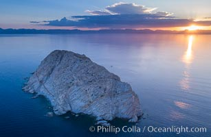 Isla San Diego, Aerial View, Sea of Cortez