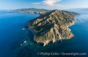 Isla San Jose, Aerial Photo, Sea of Cortez