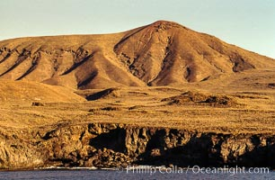 Island geology, near Abalone Point, Guadalupe Island, Mexico, Guadalupe Island (Isla Guadalupe)