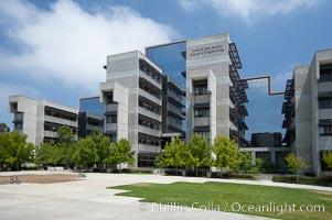 Jacobs School of Engineering building, University of California, San Diego (UCSD). La Jolla, USA, natural history stock photograph, photo id 20846
