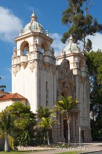 The Junior Theatre, part of the Casa del Prado in Balboa Park. Balboa Park, San Diego, California, USA, natural history stock photograph, photo id 14608