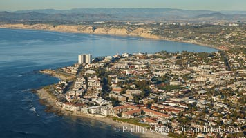 The La Jolla Coast, sometimes referred to as the Riviera of San Diego, is some of the most beautiful residental coastline in all of Southern California
