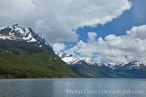 Lago Roca in Tierra del Fuego National Park, Argentina. Ushuaia, natural history stock photograph, photo id 23607