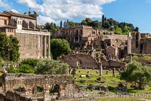 Largo Romolo e Remo, Forum, Rome