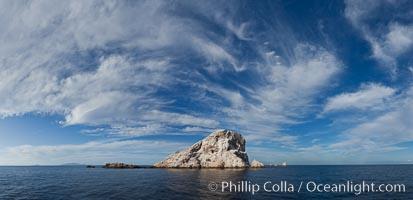 Las Animas island, southern Sea of Cortez near La Paz, Baja California, Mexico. Sea of Cortez, Baja California, Mexico, natural history stock photograph, photo id 27375