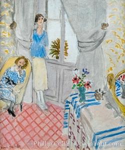"""Le Boudoir, Henri Matisse, 1921,  Musee de l""""Orangerie, Musee de lOrangerie, Paris, France"""