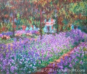 Le Jardin de l'artiste a Giverny, 1900, Claude Monet, Musee d'Orsay, Paris, Musee dOrsay