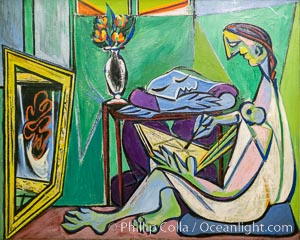 Le Muse, 1935, Pablo Picasso, Le Centre Pompidou. Paris. Musee National dArt Moderne, Paris, France, natural history stock photograph, photo id 35684