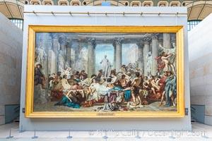 Les Romains de la Decadence, Couture (Thomas), Musee d'Orsay, Paris, Musee dOrsay