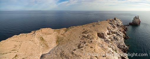 Los Islotes, aerial photo, Sea of Cortez