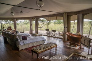 Mara Plains Camp, Luxury Tented Safari Camp, Olare Orok Conservancy, Kenya. Olare Orok Conservancy, Kenya, natural history stock photograph, photo id 29973