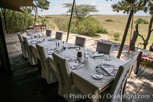 Mara Plains Camp, Luxury Tented Safari Camp, Olare Orok Conservancy, Kenya. Olare Orok Conservancy, Kenya, natural history stock photograph, photo id 30015