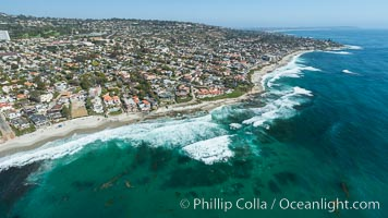 Marine Street La Jolla Aerial Photo
