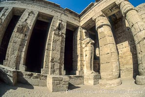 Medinet Habu. Luxor, Egypt, natural history stock photograph, photo id 02582