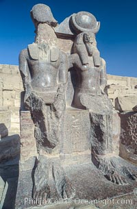 Medinet Habu. Luxor, Egypt, natural history stock photograph, photo id 02600