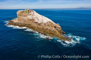 Middle Coronado Island, aerial photo, Coronado Islands (Islas Coronado)