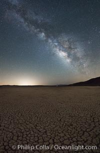 Milky Way over Clark Dry Lake playa, Anza Borrego Desert State Park