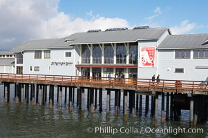 The Ty Warner Sea Center, a part of the Santa Barbara Museum of Natural History, located on Stearns Wharf, Santa Barbara Museum of History