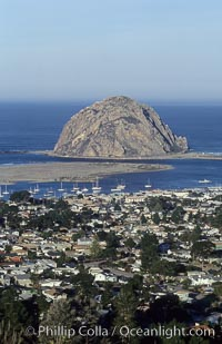 Morro Rock and Morro Bay
