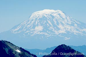 Mount Adams, viewed from Paradise Park, Mount Rainier National Park, Washington