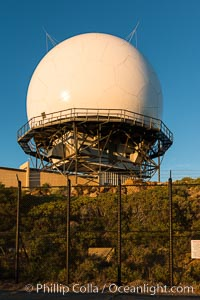 Mount Laguna FAA Radar Site, including ARSR-4 radome (radar dome)