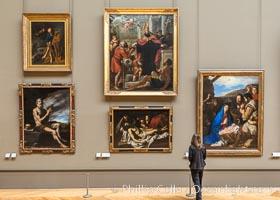 Mus�e du Louvre. Musee du Louvre, Paris, France, natural history stock photograph, photo id 35638