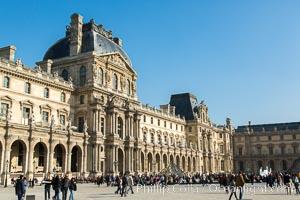 Pavilion Richelieu, Musee du Louvre, Paris, France