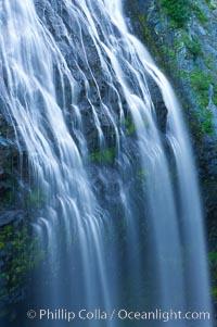 Narada Falls. Mount Rainier National Park, Washington, USA, natural history stock photograph, photo id 13838