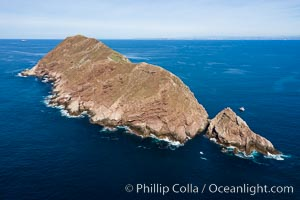 Aerial Photo of North Coronado Island, Baja California, Mexico, Coronado Islands (Islas Coronado)