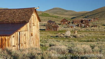 Occidental barn. Bodie State Historical Park, California, USA, natural history stock photograph, photo id 23120